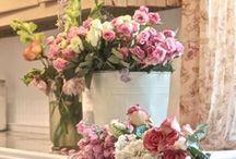 Pink Flower Love / by Carolyn Tarver