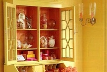 Painted China Cabinets / by Kim Rowland (Today is My Someday)