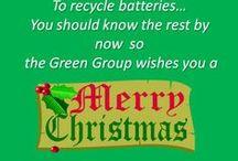 Green Christmas!