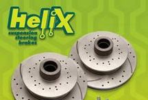 Helix Suspension / Helix products sold at Johnny Law Motors