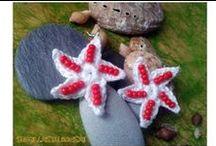 Mis Pendientes Crochet / Hechos a mano