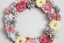 Crafty Ideas: Wreaths / Crafting, DIY Wreath ideas, tips, tricks, tutorials & more!