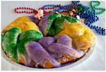 Mardi Gras / No need to travel to Louisiana to celebrate Mardi Gras. Throw a Mardi Gras party in your neighborhood and don't forget the King Cake! / by Deb Thompson - Just Short Of Crazy