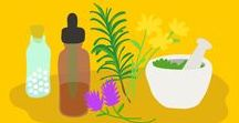 Holistic & Herbal Health / Natural home remedies to minor aches and pains.