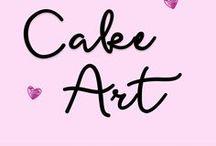 Cake Art / Beautiful cakes and cake decorations.