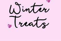 Winter Treats / Delicious recipes for the winter season.