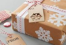 Christmas Gift Wrapping / Totally unique Christmas gift wrapping ideas. Make you present look individual this year.