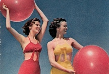Swimsuits and beach ensembles