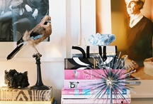 coffee table books / ok so I'm obsessed with styling coffee/side tables... / by Sherita
