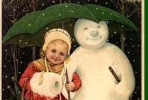 Vintage Snowmen / by D Marie Bass-Keller