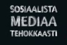 Blogs I Follow / There are some blogs that I read. Unfortunately they all are in Finnish.