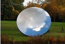 Environmental manipulation/evanescent artworks
