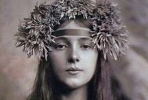 Gertrude Käsebier / Gertrude Käsebier was a pioneering female photographer. She studied painting at the Pratt Institute, Brooklyn, NY (1889–93), and in France and Germany (1894–5). She began her professional photographic career c. 1894, as a magazine illustrator, and then c. 1898 she opened a portrait studio on Fifth Avenue in New York. Her simplified portrait style dispensed with scenic backdrops and fancy furniture and was soon widely emulated.