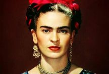 Art and Frida / Art and Frida Kahlo. / by Autumn Chanel