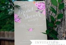 2014 pantone radiant orchid bridal shower / orchid bridal shower inspiration