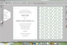 capturing creativity / designing wedding invitations, save the date cards & stationery