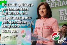 Euskadi Gehiago / Europa Berrian.
