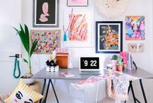 Work Spaces & Offices / Home decor, offices, office decor, studios, work spaces