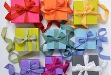 Boxes & Bows / Gift wrap, gift wrapping, wrapping paper, ribbon, tags, DIY