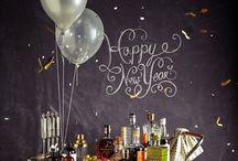 NYE, baby! / New Years Eve, NYE, decor, ideas, glitter!