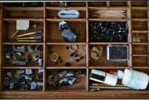 CinderellaGarbage - atelier / Les dessous de la création de nos bijoux / Behind the scene of our jewelry