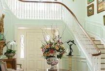 Entry Ways / Foyers / home decor, entries, entry ways, foyers, interior design, interiors, doors