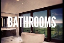 Spaces (Bathrooms) / Often with an unexpected flair for the spectacular, New York offers some of the most incredible bathrooms you've ever seen. Simply put, here's the very best bathrooms from Corcoran, organized and shared with you, every day. / by The Corcoran Group