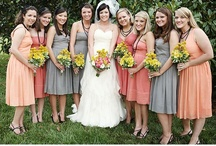 Beautiful Bridesmaids / Hair, makeup, bouquets, gowns, and gifts for the special ladies in your party.