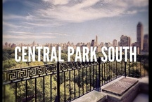 Central Park South Apartments / In addition to the quiet of Central Park itself, one of Manhattan's top urban sanctuaries is near Central Park South in the plaza of Columbus Circle, where a monument to the Italian explorer is nestled inside a 99-jet fountain. While many of the historical buildings offer modern amenities such as parking, it's also just blocks to the corporate headquarters of Midtown, the artistic offerings of Lincoln Center, and the newly-redone Museum of Modern Art – why not stroll? / by The Corcoran Group