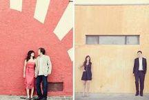 Wedding Photo Inspiration / Engagement shoot and ceremony photo inspiration.