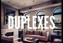 Spaces (Duplexes) / Duplexes. They offer some of the most modern (and well designed) places to live in New York. Simply put, here's the very best duplexes from Corcoran, organized and shared with you, every day. Dream big! / by The Corcoran Group