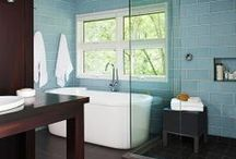 Bathroom ideas / by Emily Rushton