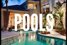 Spaces (Pools) / If you love to swim, or even if it's just unwinding after a long day, a pool is often a fantastic way to relax. From modern stylings in the city, to summer retreats in The Hamptons, simply put, here's the very best pools from Corcoran, organized and shared with you, every day. / by The Corcoran Group