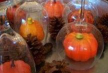 FALL / Fall holiday ideas, decorations and fun.