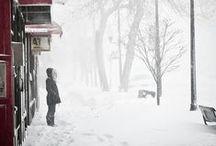 snowy days.