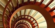 Staircases / Staircases and stairways. Spiral and straight. Indoor and out.