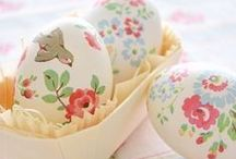 SPRING: EASTER / Fun Easter crafts and decor ideas.