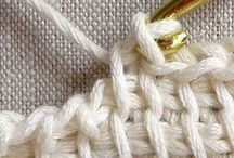 CRAFTS: SEWING & CROCHET / Sewing, fabric, knitting and crochet projects.