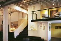 INTERIORS:  LOFTY LIVING / . . .inspiration for loft living!