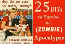 Zombies! / Survival (and camping) pins, just in case...