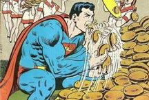 Food Lust in Comics / Funny comic book art featuring people eating, cooking and lusting for food.