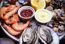 RECIPES:  SEAFOOD / Shrimp, lobster, scallops, clams and a fish or two!