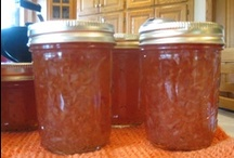 RECIPES:  JAMS, JELLIES, PICKLES, SAUCES, SPREADS / . . .plus a cheese recipe or two.