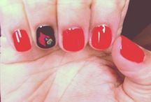 Nail Art / Try these great designs out for work, school, or the next gameday!