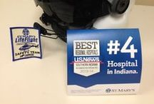#4 in Indiana / St. Mary's is proud to be ranked the #4 hospital in the state of Indiana - the highest ranking in Southern Indiana. Our associates are celebrating by sharing creative pictures and video of #4. A winner will be chosen each month! / by St. Mary's Health