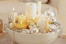 Sviečky a svetielka / Milujem mihotavé svetlo sviečok  ....
