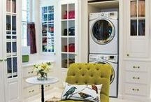 INTERIORS:  LAUNDRY & MUDROOMS / Love a large laundry/mudroom and these are a few of my favorites