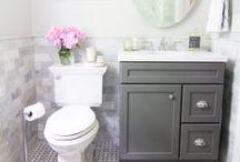 dream house [bathroom/laundry room] / by Sarah Hatton