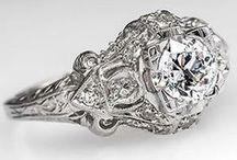 Marry me / Wedding ring, platinum, diamonds
