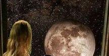 .Moon / An open door to the space.